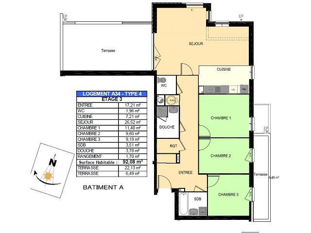 Appartement en vente boulogne sur mer 92 m 276 400 for Garage kia boulogne sur mer occasion