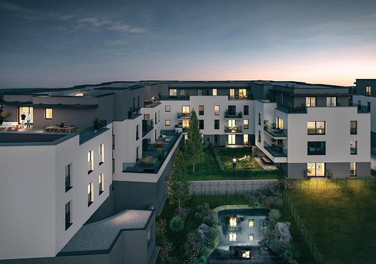 apartment for buy 2 bedrooms 78.15 m² howald photo 4