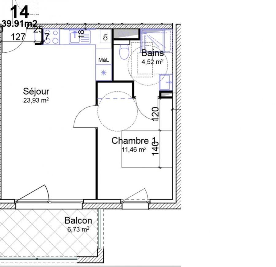acheter appartement 2 pièces 39.91 m² yutz photo 4