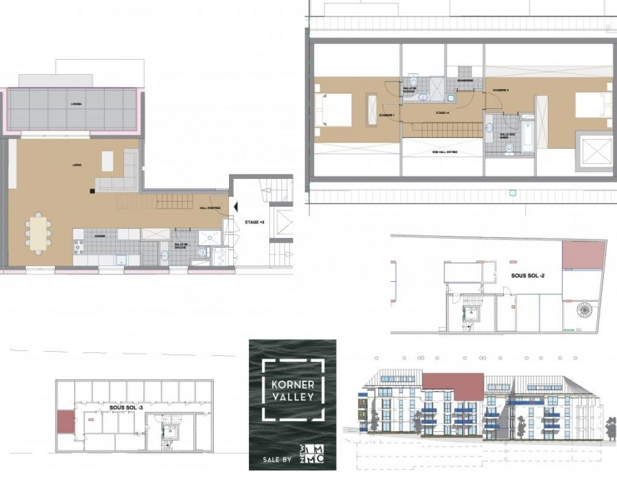 acheter duplex 2 chambres 112.83 m² luxembourg photo 4
