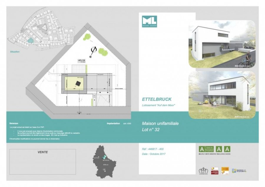 acheter maison individuelle 3 chambres 174 m² ettelbruck photo 2
