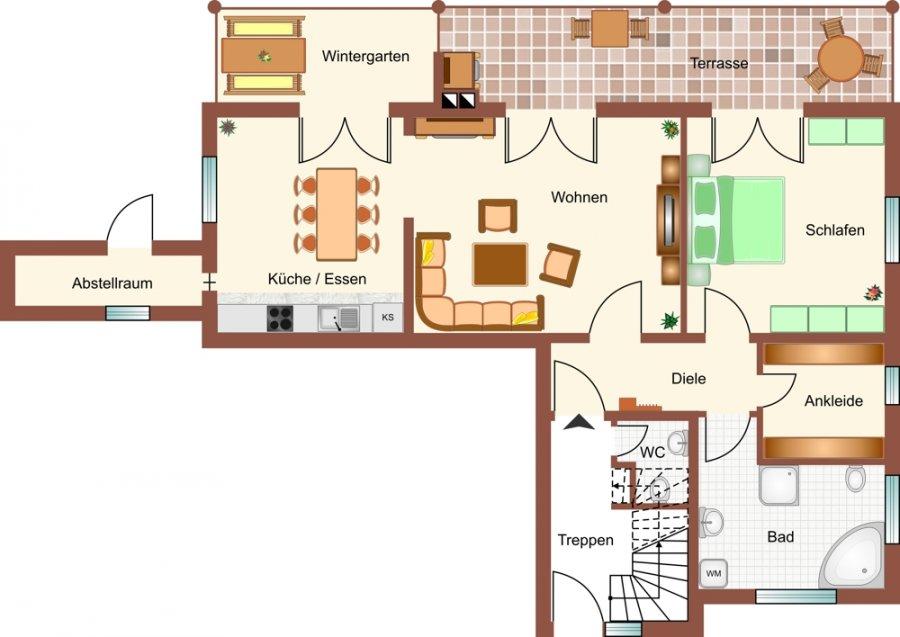 wohnung mieten 2 zimmer 112 m² merzig foto 1