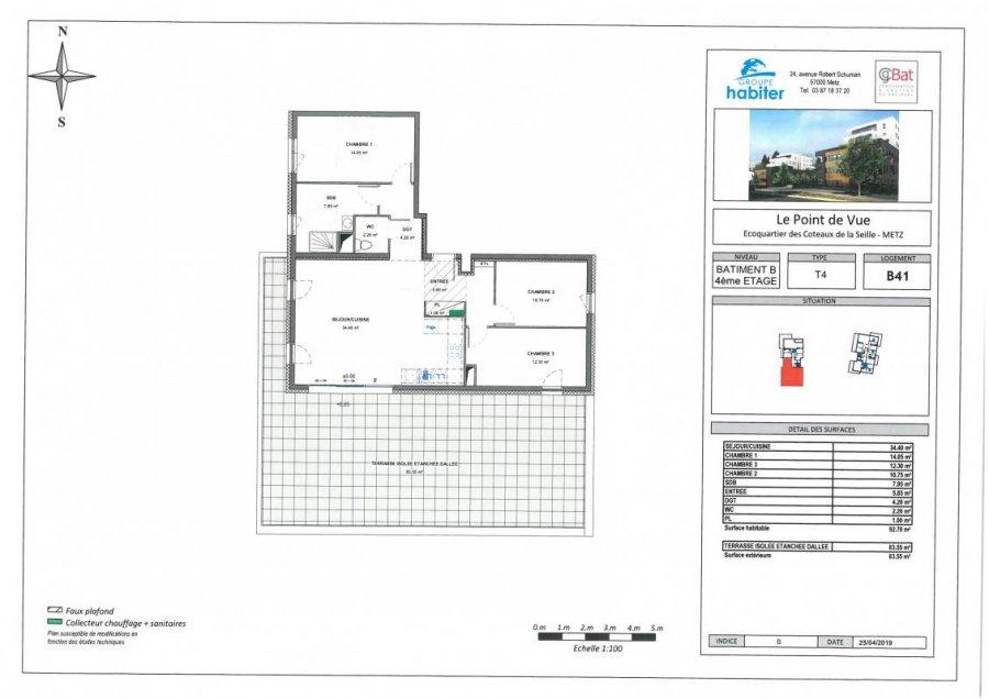 wohnung kaufen 4 zimmer 92 m² metz foto 1