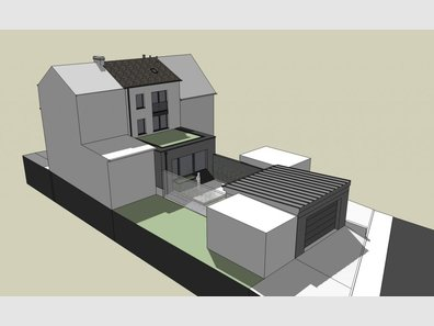 Maison mitoyenne à vendre 4 Chambres à Howald - Réf. 6163467