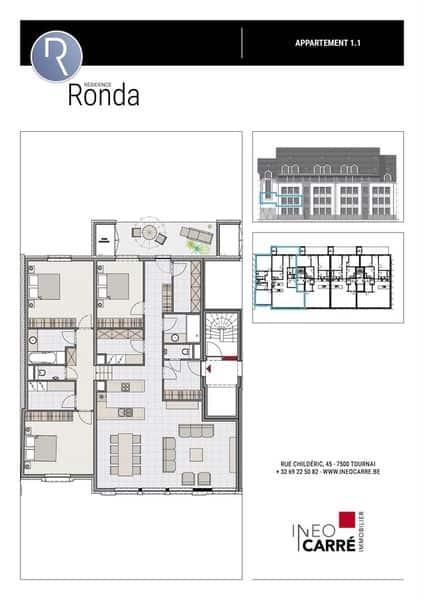 acheter appartement 0 pièce 166 m² tournai photo 5