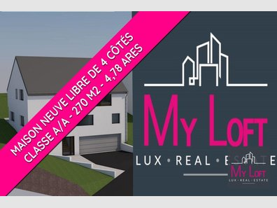 Detached house for sale 5 bedrooms in Mertzig - Ref. 7332379