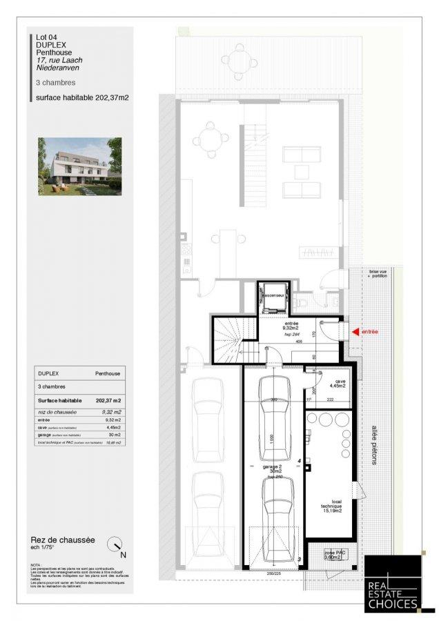 acheter penthouse 3 chambres 202 m² niederanven photo 6