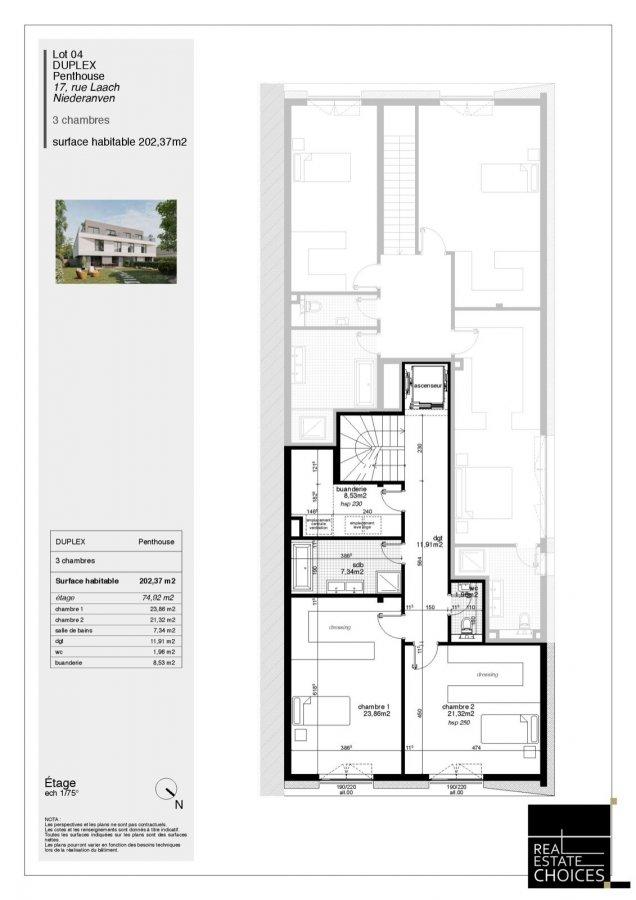 acheter penthouse 3 chambres 202 m² niederanven photo 7