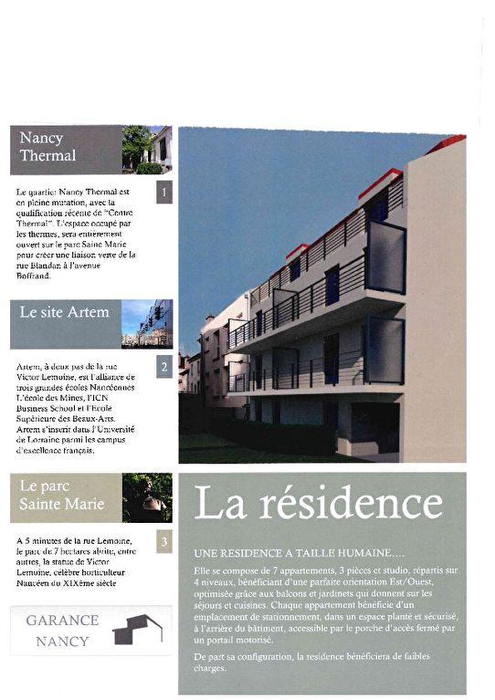 acheter appartement 3 pièces 52.52 m² nancy photo 1