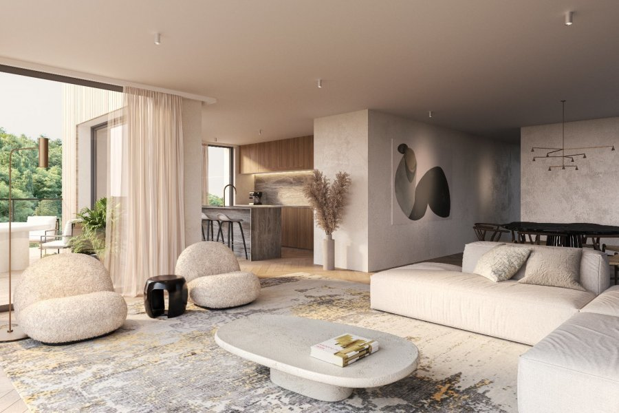 acheter appartement 1 chambre 54.69 m² luxembourg photo 1