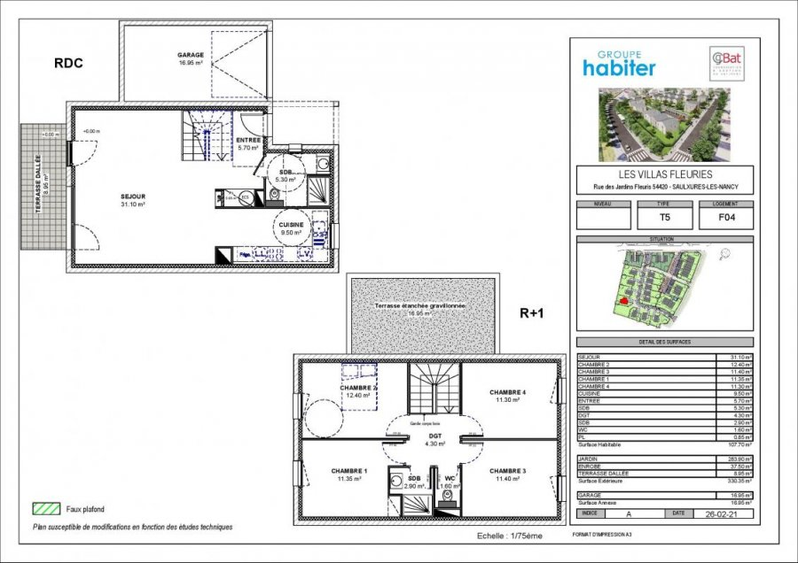 acheter villa 5 pièces 107 m² saulxures-lès-nancy photo 1