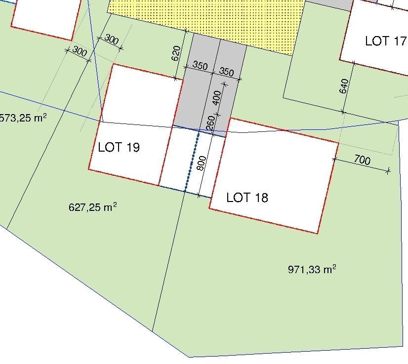 Terrain constructible à vendre à Weicherdange