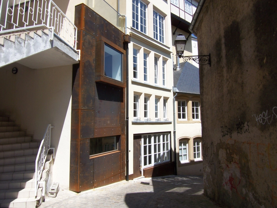 louer bureau 3 chambres 115 m² luxembourg photo 1