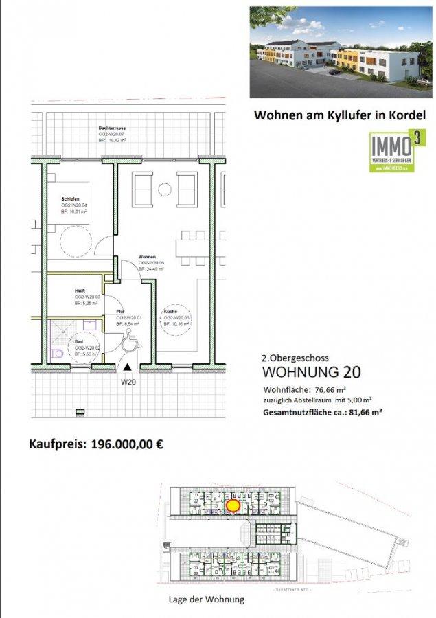 wohnung kaufen 2 zimmer 76.66 m² kordel foto 2