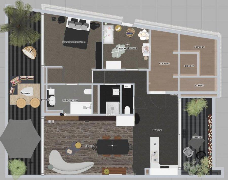 acheter penthouse 3 chambres 95 m² buschdorf photo 5