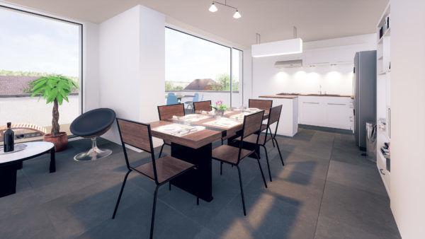 acheter duplex 3 chambres 127 m² holzem photo 3
