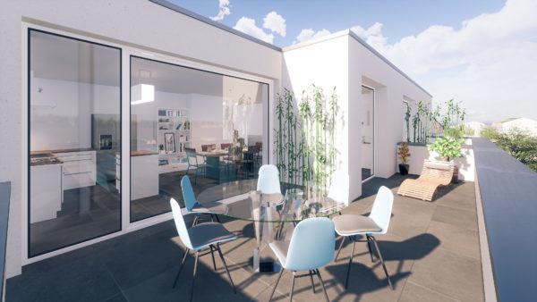 acheter duplex 3 chambres 127 m² holzem photo 2