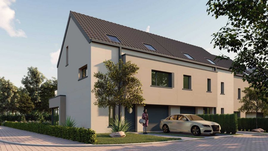 acheter maison mitoyenne 4 chambres 193 m² elvange (schengen) photo 1