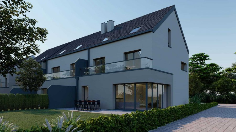acheter maison mitoyenne 4 chambres 193 m² elvange (schengen) photo 2