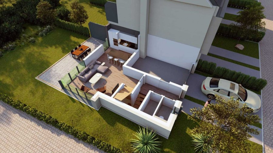 acheter maison mitoyenne 4 chambres 193 m² elvange (schengen) photo 3