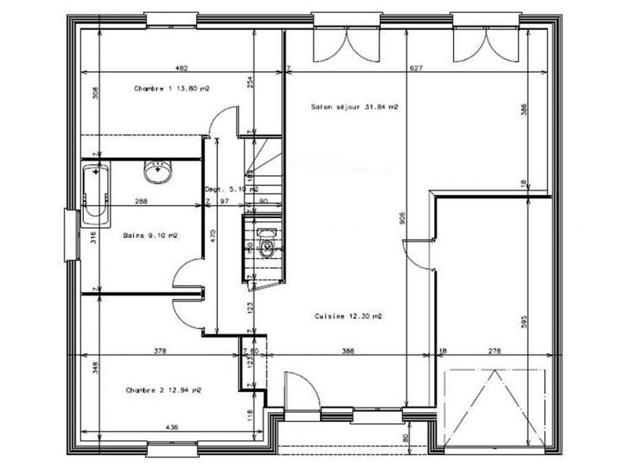 acheter maison individuelle 4 pièces 86 m² metz photo 3