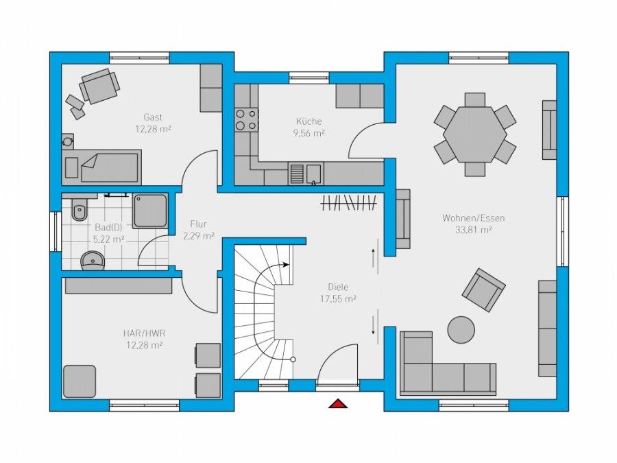 acheter maison 6 pièces 176 m² perl photo 2