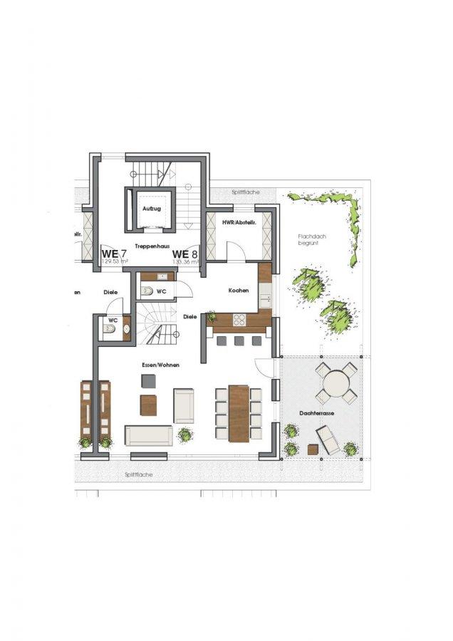 penthouse-wohnung mieten 3 zimmer 133 m² perl foto 2