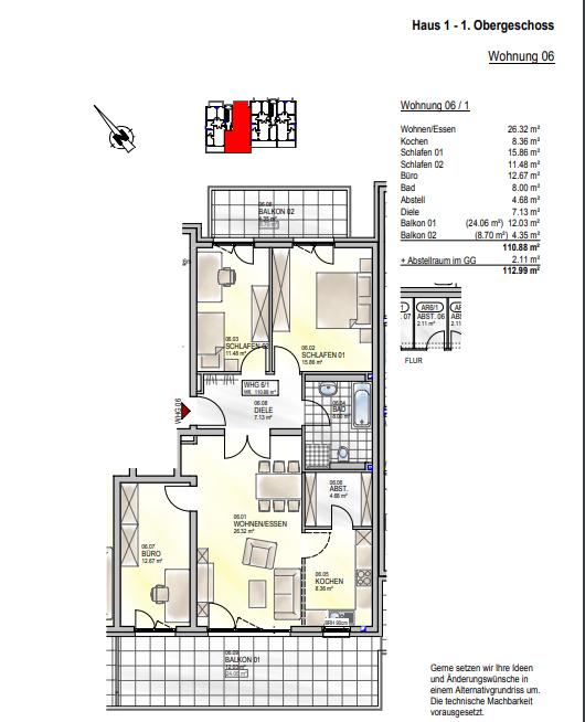 wohnung kaufen 0 zimmer 110.88 m² palzem foto 4