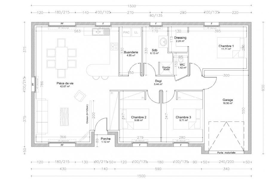 acheter maison individuelle 4 pièces 94 m² charmes photo 2
