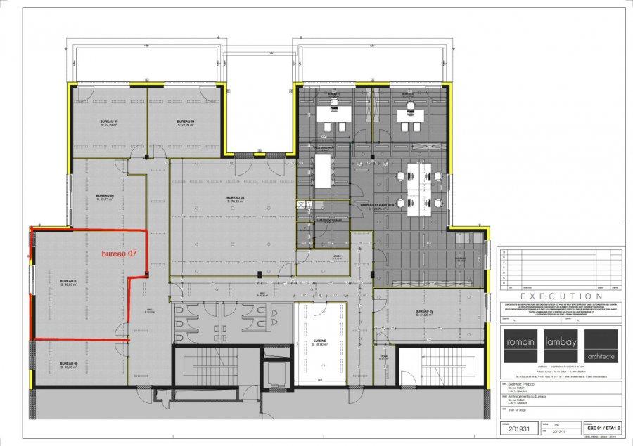 louer bureau 0 chambre 47 m² steinfort photo 4