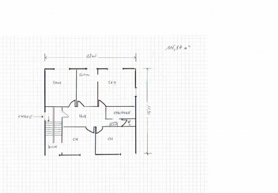 Appartement à vendre F6 à Guénange