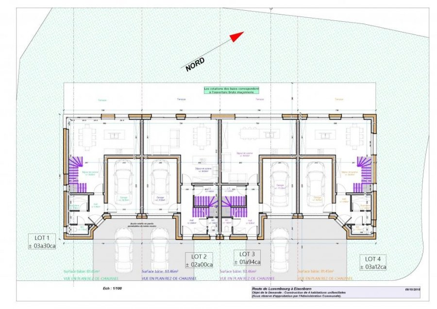 acheter maison mitoyenne 3 chambres 174 m² eisenborn photo 3