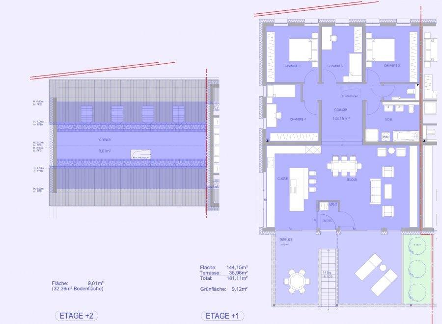 wohnung kaufen 3 schlafzimmer 157.24 m² niederanven foto 3