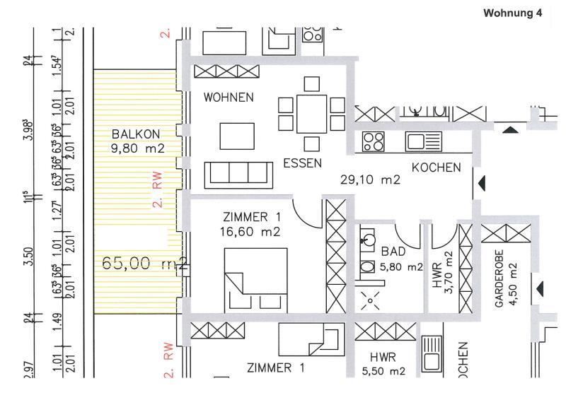 acheter appartement 2 pièces 67.12 m² trier photo 3