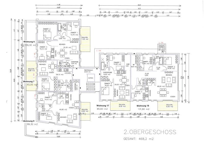 acheter appartement 2 pièces 67.12 m² trier photo 4