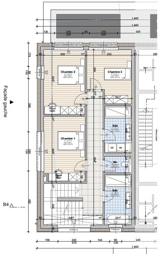 acheter maison jumelée 4 chambres 220 m² fentange photo 5