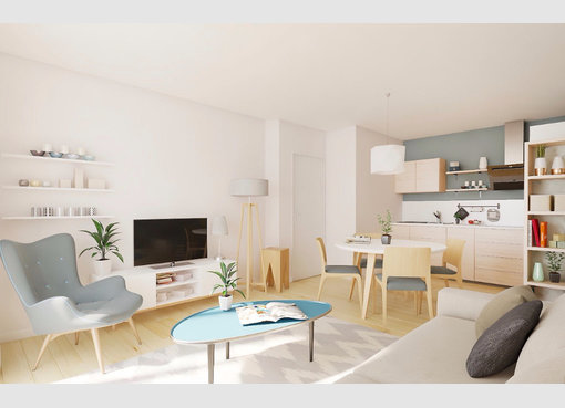 Neuf appartement f2 metz moselle r f 5236315 for Appartement f2 neuf