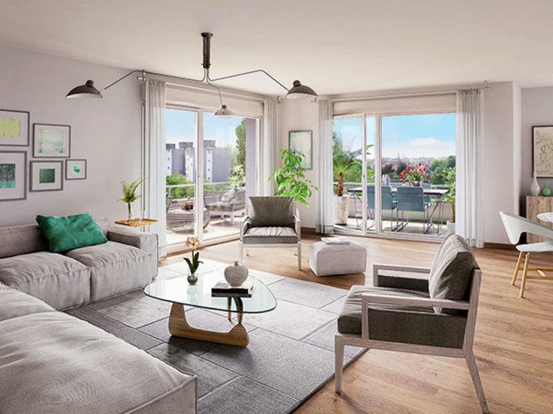 acheter appartement 3 pièces 65 m² saint-max photo 2