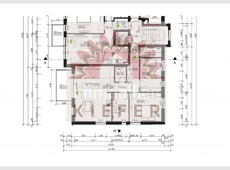 Wohnung zum Kauf 3 Zimmer in Perl (DE) - Ref. 7252571