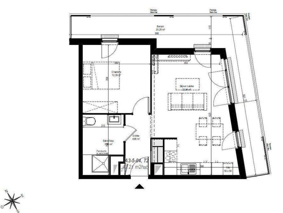 louer appartement 2 pièces 47 m² strasbourg photo 2