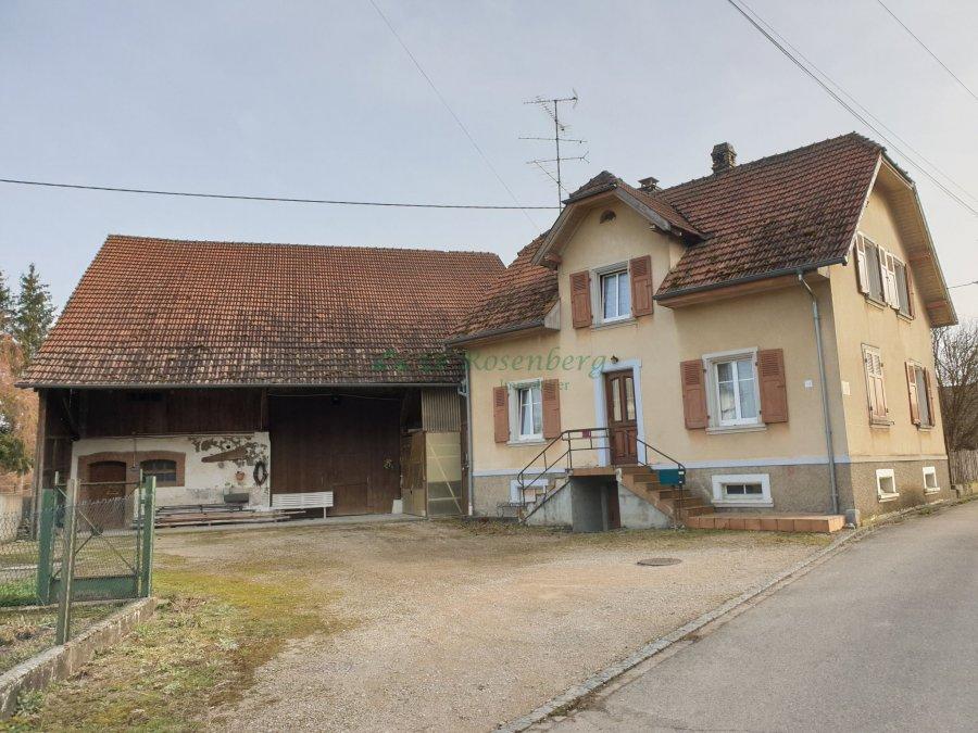 Maison à vendre F7 à Oltingue