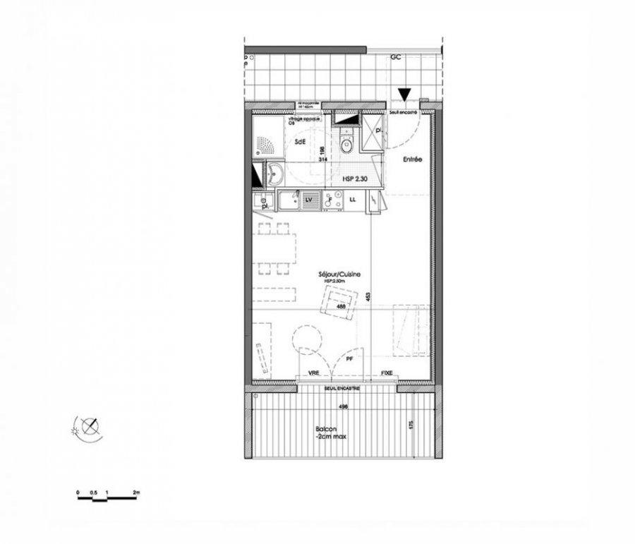 acheter appartement 1 pièce 34 m² saint-nazaire photo 3