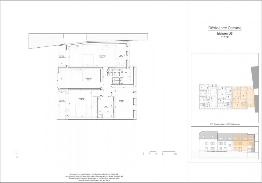 acheter triplex 4 chambres 244 m² useldange photo 4