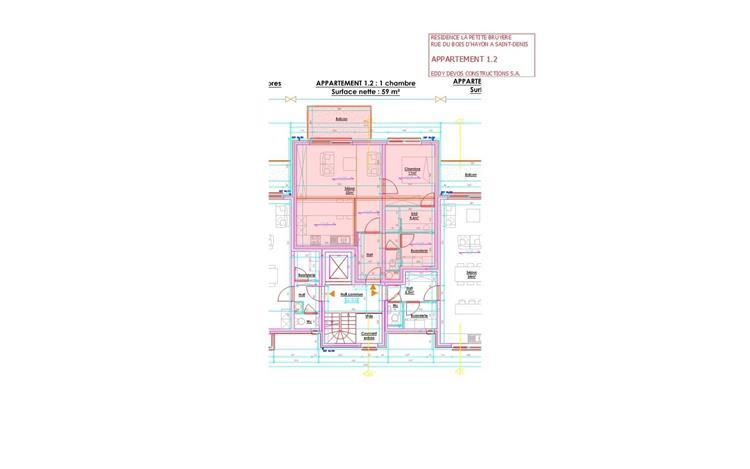 acheter appartement 2 pièces 65 m² mons photo 2