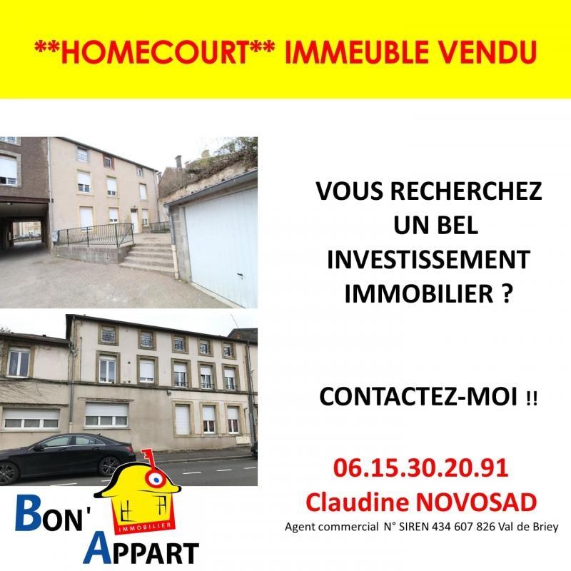 acheter immeuble de rapport 0 pièce 0 m² homécourt photo 1