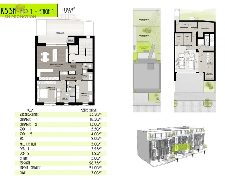 acheter appartement 2 chambres 94.13 m² luxembourg photo 2