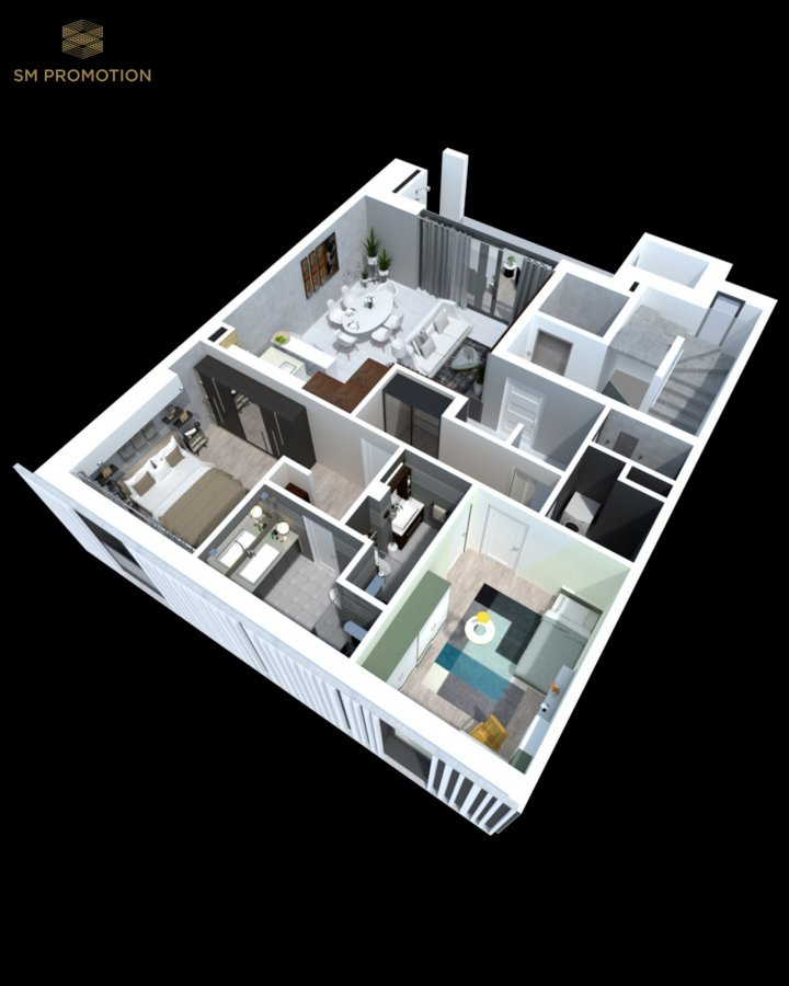 apartment for buy 2 bedrooms 94.13 m² luxembourg photo 3