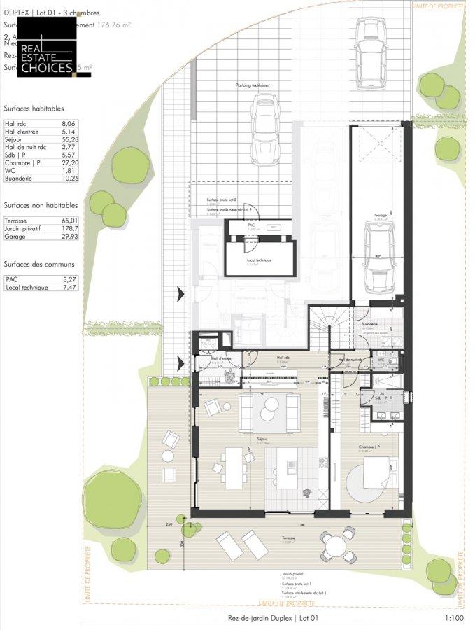 Duplex à vendre 3 chambres à Niederanven