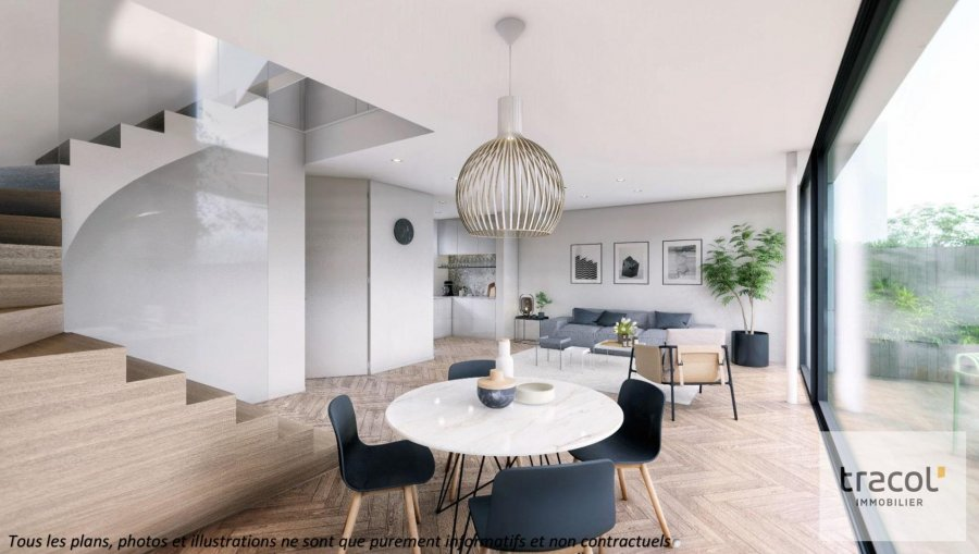 acheter maison mitoyenne 3 chambres 129.99 m² dippach photo 4