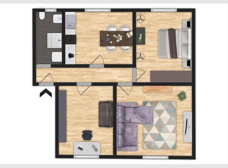 Apartment for rent 3 rooms in Saarbrücken (DE) - Ref. 7256187